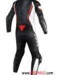 Dainese Assen 1 Pf Perf.suit Blk Wht Red Flu DNS-1513447.N32