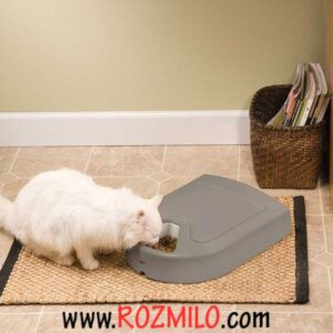 ظرف غذای خودکار گربه و سگ
